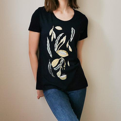 """DecoMundo organinės medvilnės marškinėliai """"Tropinis sodas"""""""