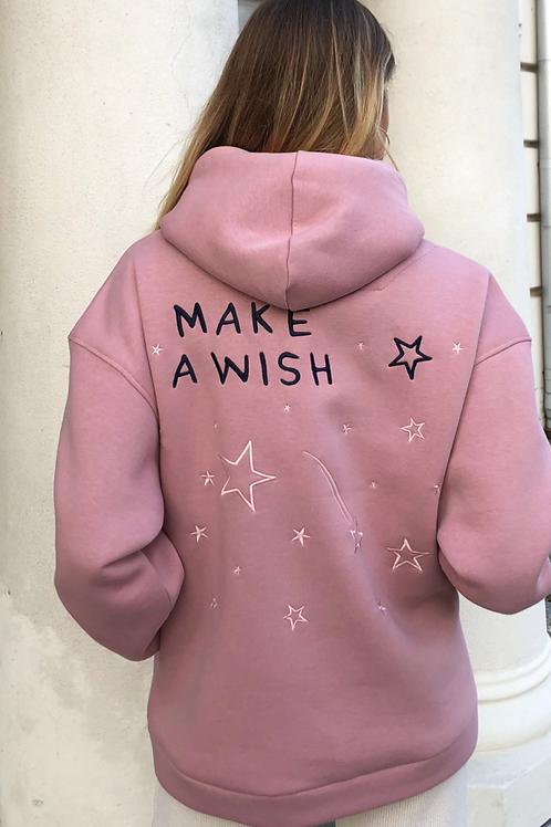 DECODED OVERSIZED autentiškas džemperis MAKE A WISH+