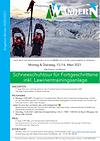 Flyer Schneeschuhtour für Fortgeschritte