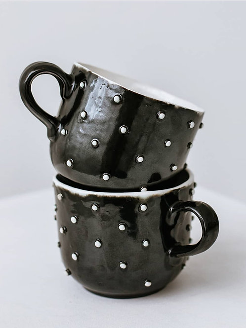 """CERAMICAT IV rankų darbo puodelis ,,Žvaigždėtas dangus"""""""