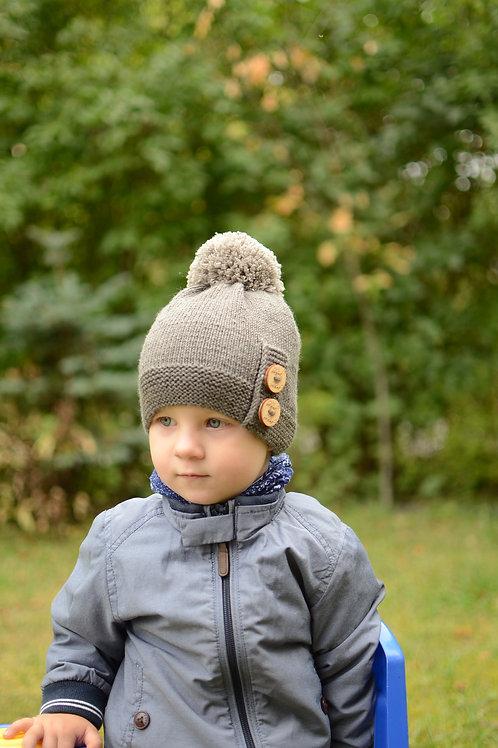 "BELOVED merino vilnos kepurė ""POMPOM"""