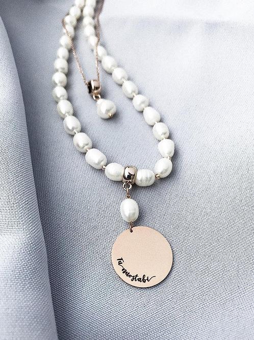 """LOVEIN perlų vėrinys """"Tu nuostabi"""""""