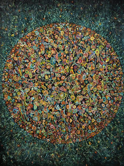 """DARIUS KAIRAITIS autorinė reprodukcija """"Gyvenimas yra gražus"""""""