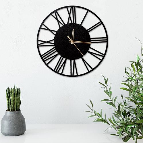 PONAS BEBRAS sieninis laikrodis iš ąžuolo