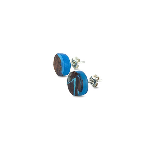 "MALKO jewellery auskarai ""POINT CLASSIC BLUE """