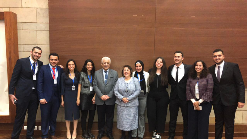 Minister of Education with the Competition Organizing Team
