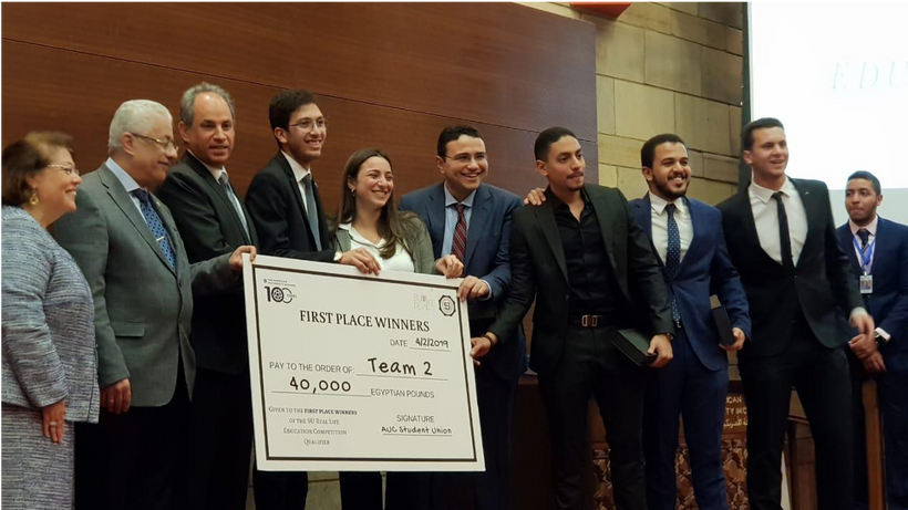 $2500 Prize for Winning Team in Education Competition Presented by the Minister of Education