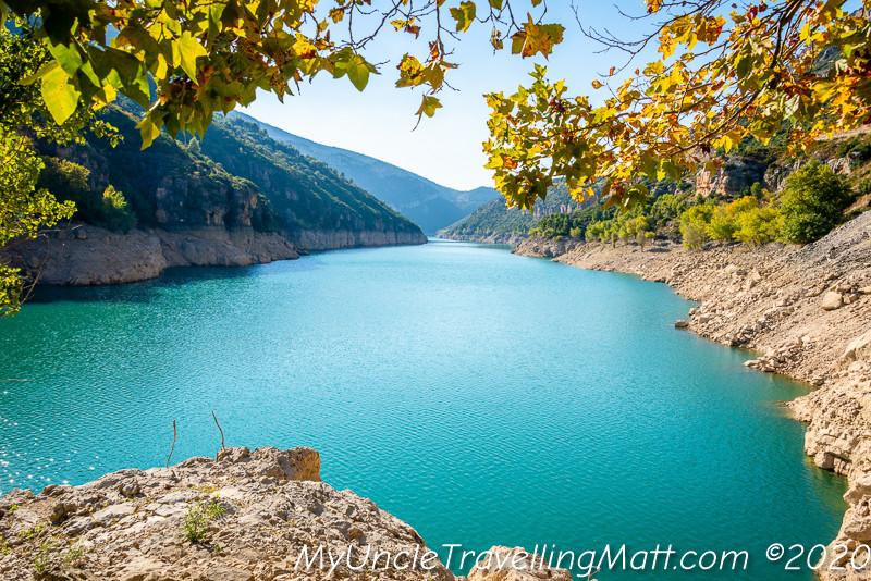 road trip lleida catalunya catalonia water dam