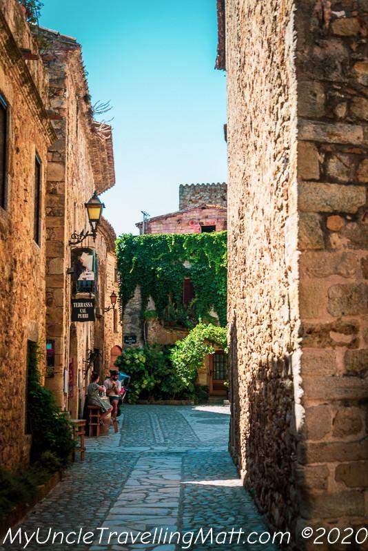 pals medieval village spain