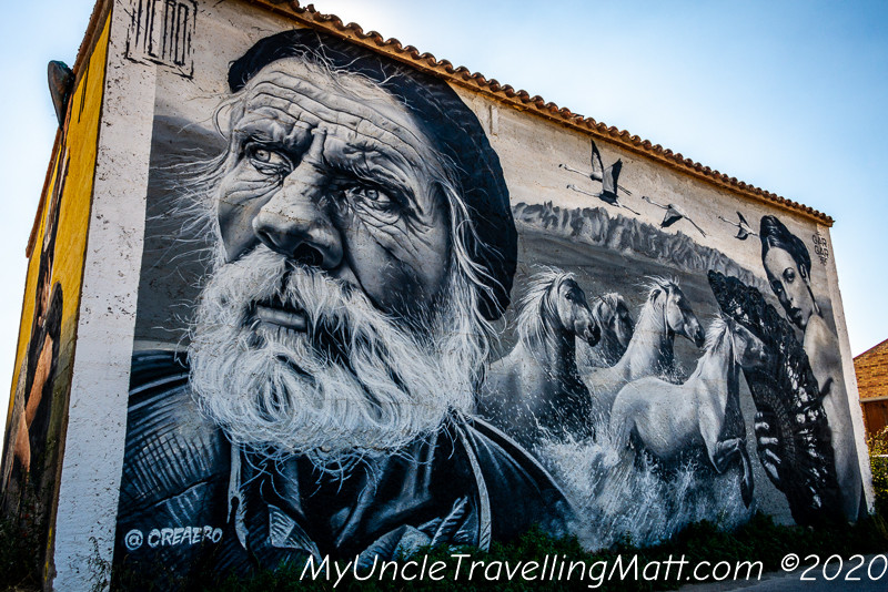 Penelles art graffiti village catalunya