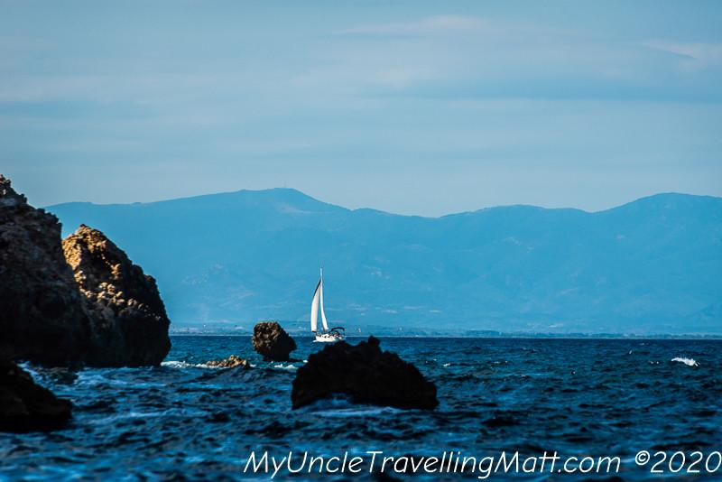 Cala Illa Mateua L'Escala costa brava