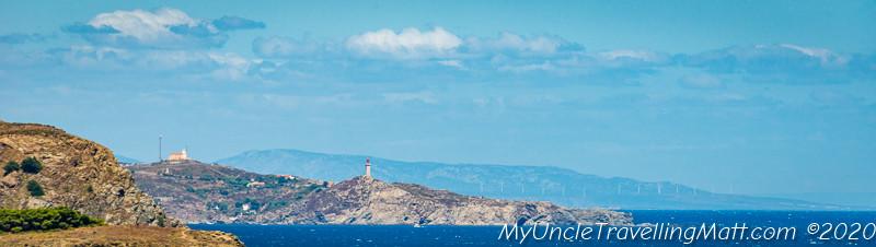 Mediterranean costa brava france spain