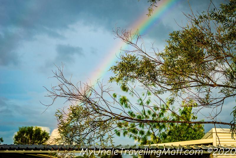 sun rainbow covid better