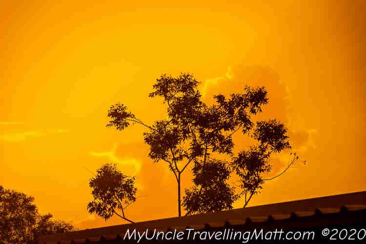 orange fire red sunset darwin