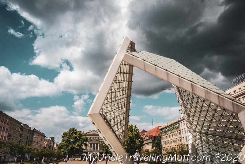 Fontanna Wolności Poznan