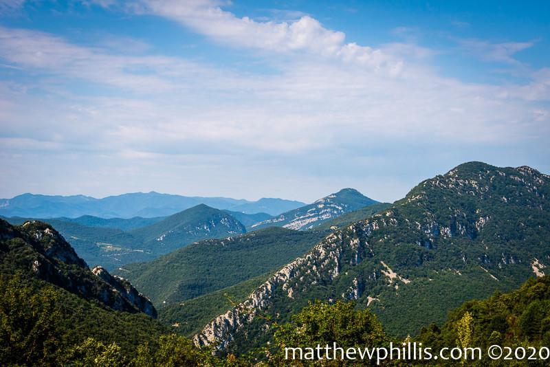 La Garrotxa mountains