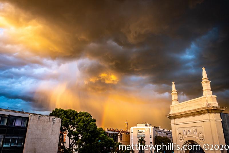 sabadell storms catalunya city
