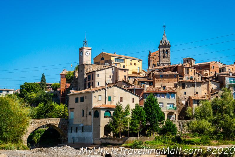 gironella poble village catalonia