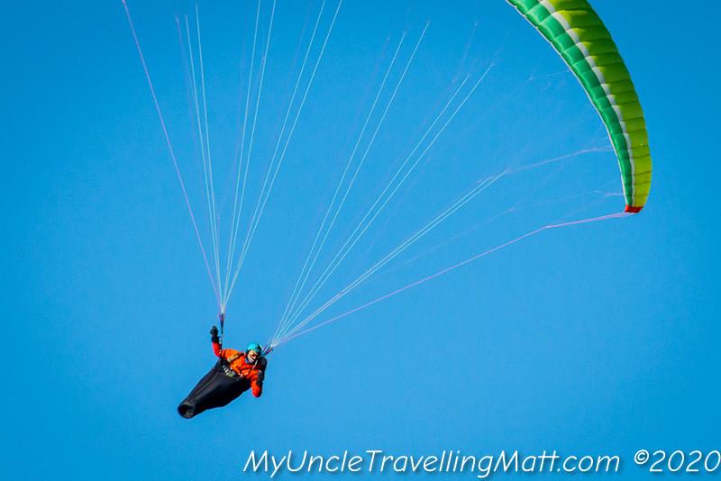 hang glider Coll d'Ares Serra del Montsec catalunya catalonia mountains