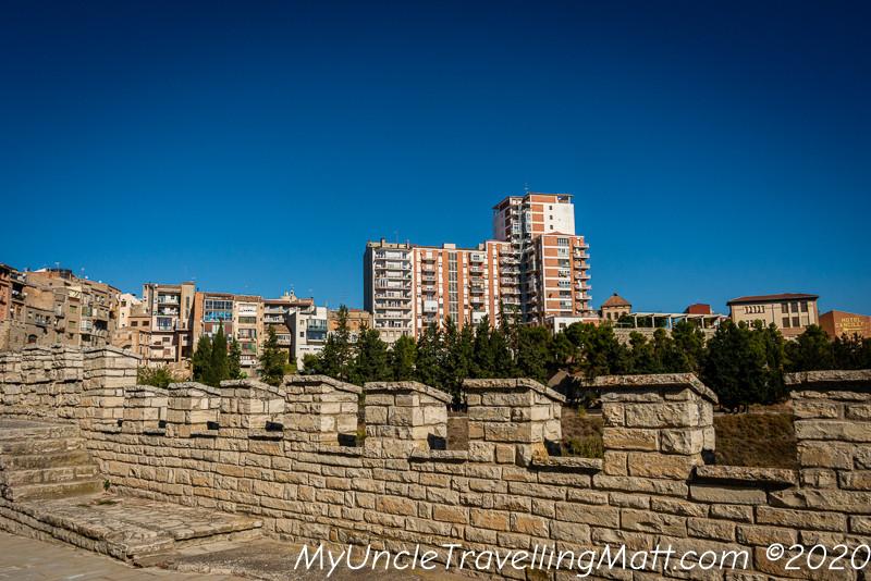 cervera city walls