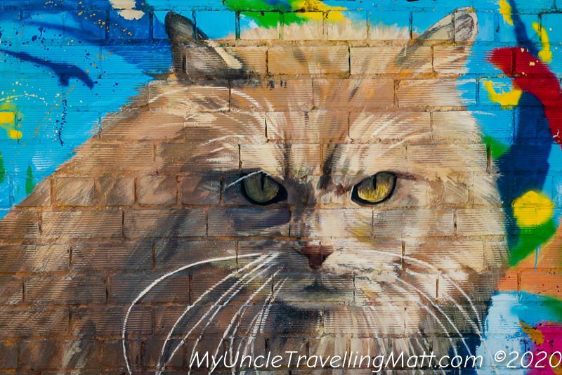 Penelles art graffiti village catalunya cat