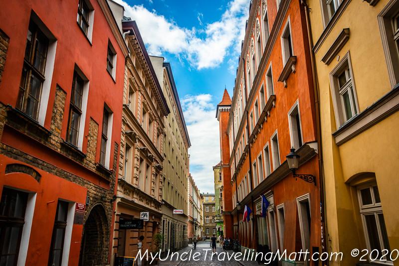 poznan city streets