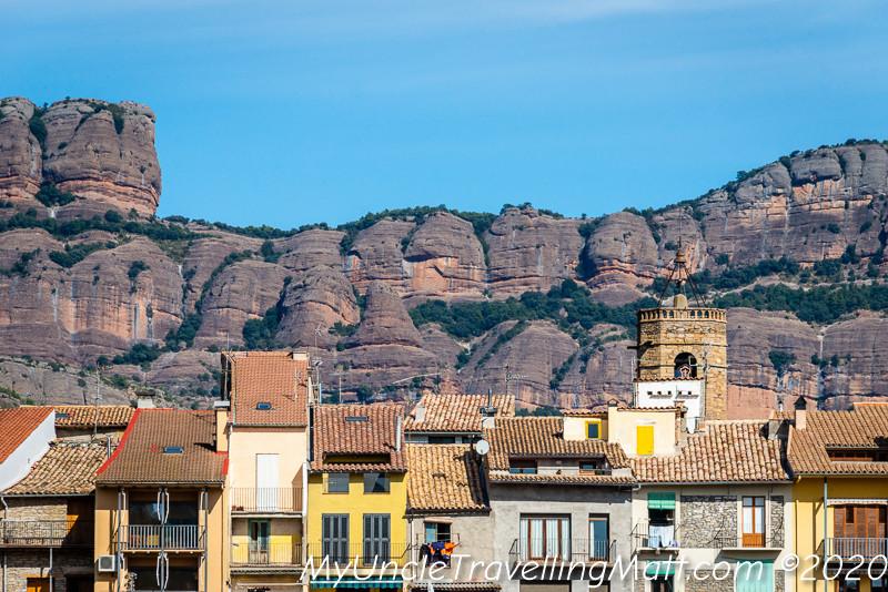 La Pobla de Segur village catalunya catalonia
