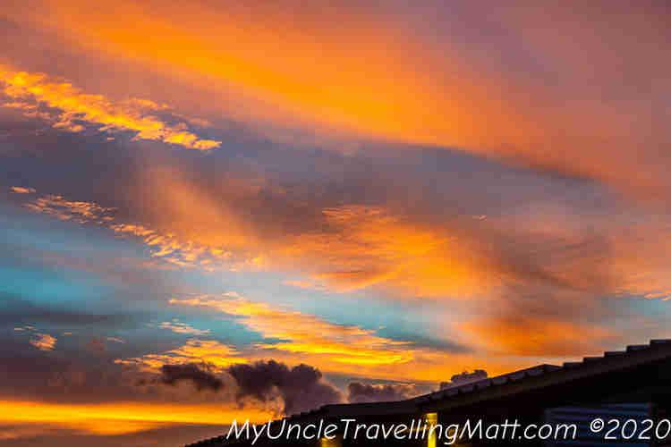 sunset red orange beautiful darwin