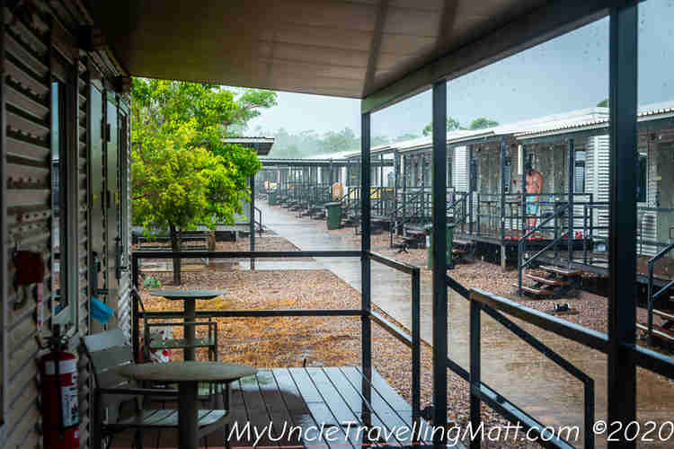 daily storm showers darwin topend humid tropics
