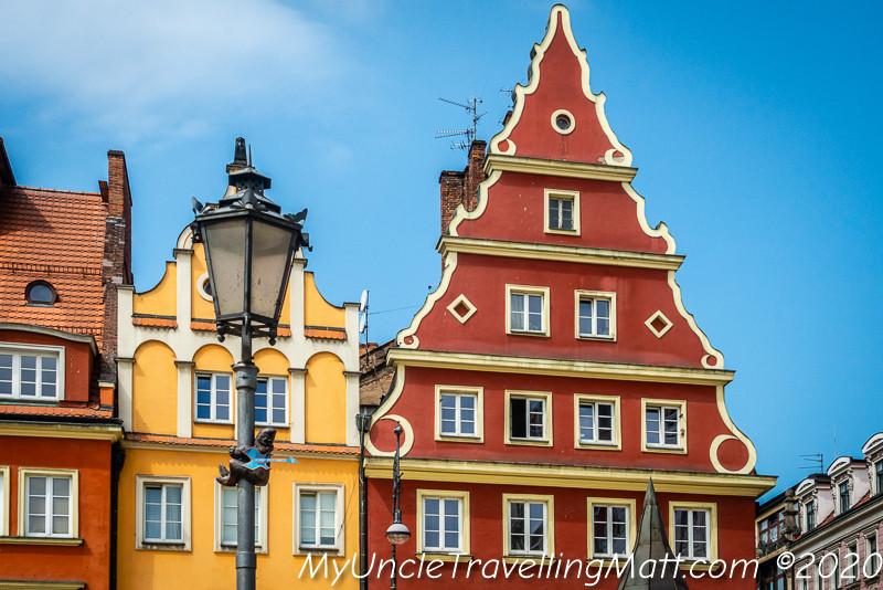Wrocław buildings