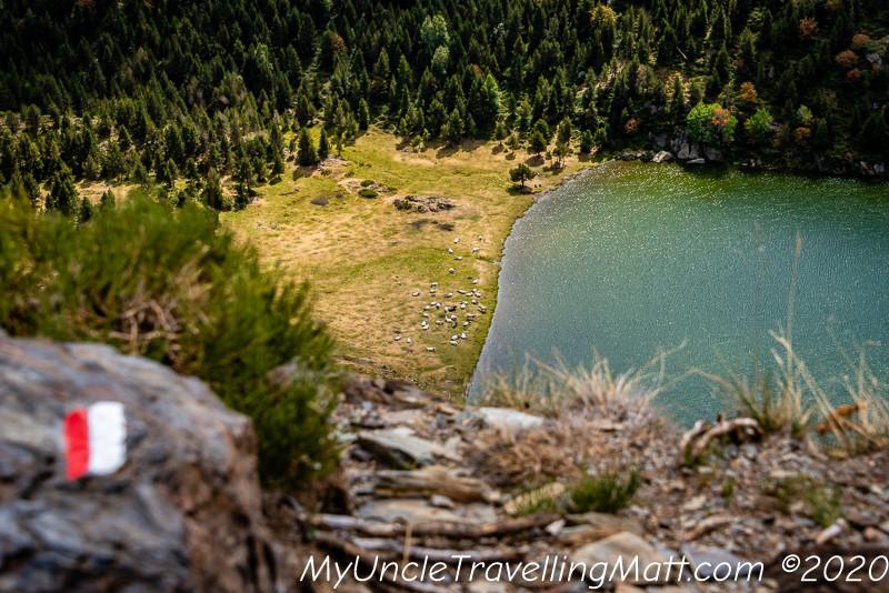 Route des Lacs france hike mountains