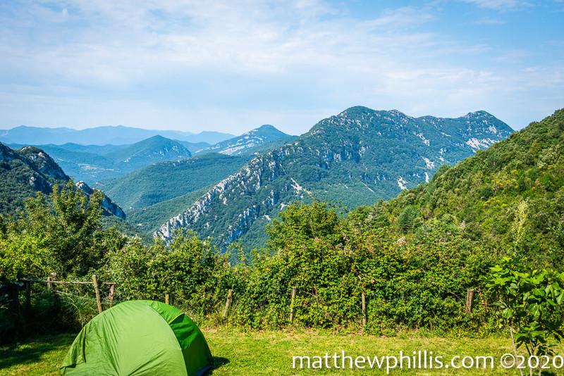 camping refuge at Talaixà