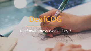 Deaf Awareness Day 7