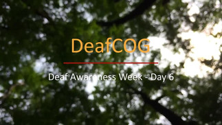 Deaf Awareness Day 6