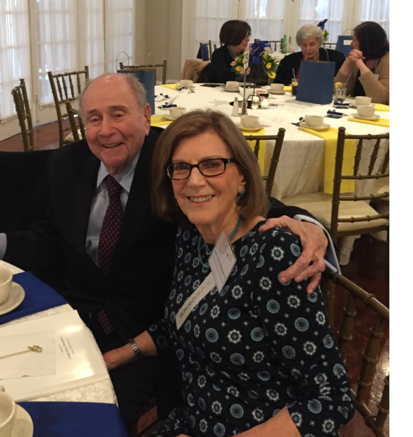 Honoree, Judy Hirshon pictured with husband, Bruce.