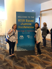 Our Pro bono staff attended the ABA Equal Justice Conference in San Diego.