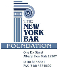 Special thanks to the New York Bar Foundation for supporting our agency's Re-Entry Project.