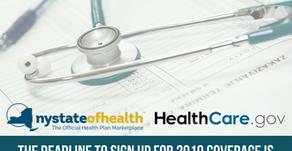 Don't miss the December 15 deadline to get insured!
