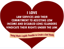 "February is ""Show your Love for Law Services"" Month"