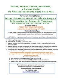 LI Early Childhood LIU is hosting a workshop on April 5