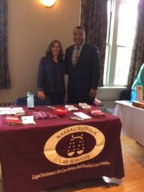 Carolyn McQuade represented NSLS at Legislator Spencer's Annual Community Health & Information F