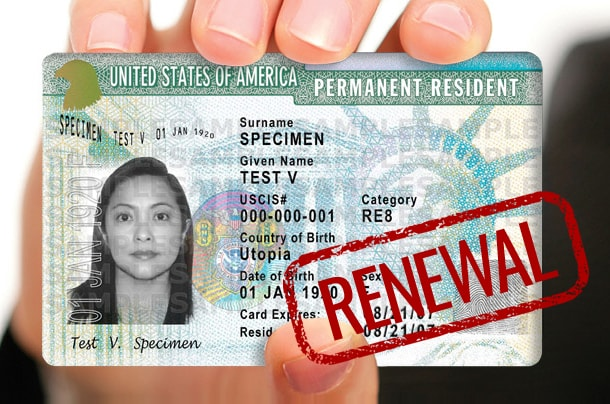 Is Your Green Card Expired Or Set To Expire Within The Next