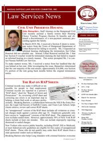 Law Services News - March/April 2020