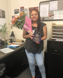 Congratulations to Esperanza (Essie) Rios for 30 years of service at NSLS!