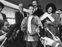 Today we honor Ryan White's legacy-- how he changed the way the world sees AIDS.