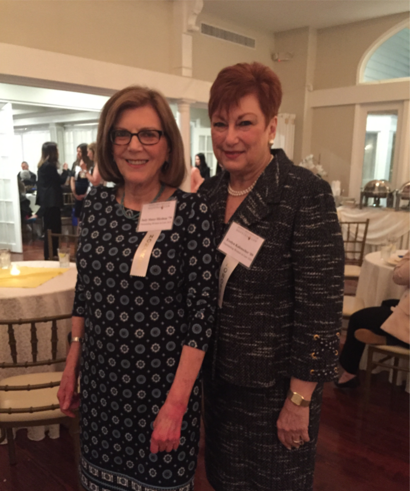 Judy and co-honoree, Evelyn Kalenscher.