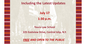 Forumfor Veterans, Servicemembers and their families at Touro Law School - July 17, 2018