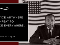 Today we remember peacemaker and activist, Martin Luther King Jr. who was killed 50 years ago at age