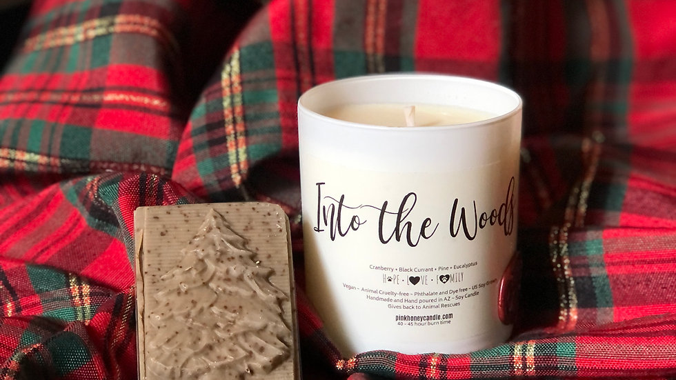 Candle & Soap Set ~Into the Woods
