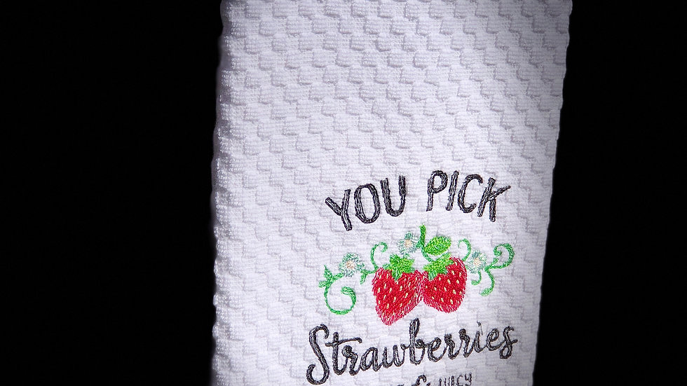 Hand Towel ~ by Newton's Apple-que